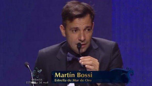 Martín Bossi se quedó con el oro en los Estrella de Mar