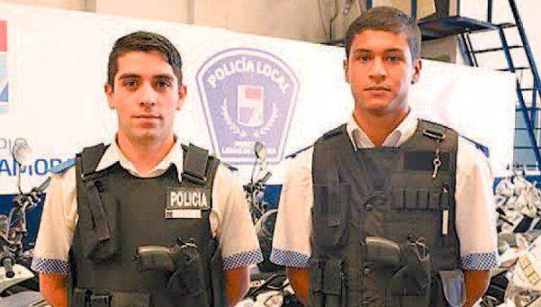 Dos policías de Lomas de Zamora fueron parteros