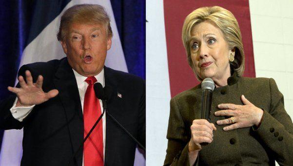 EE.UU.: las primarias de Iowa abofetearon a Trump y a Hillary