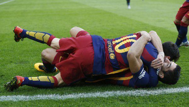 Barcelona humilló a Valencia y Messi se llevó la pelota