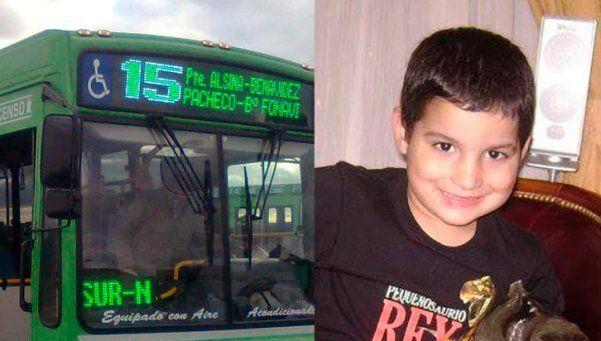 Cuatro años para el colectivero que mató a un nene en 2010