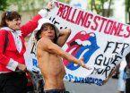 Fiebre Stone: los rollingas hacen vigilia para ver a sus ídolos