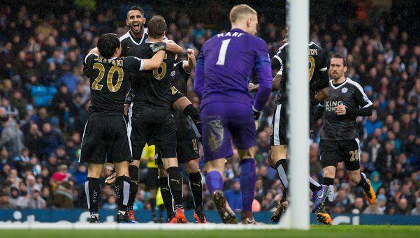 Leicester, intratable: se agrandó en casa del City y sacó más ventaja