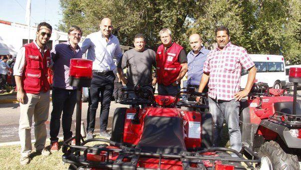 Importante donación de la Cruz Roja a Quilmes
