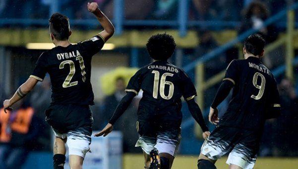 Dybala la metió y la Juventus se mantuvo al acecho del Napoli