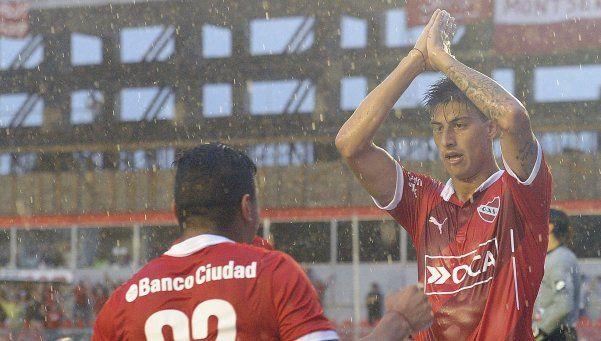 Independiente cosechó una victoria ante Belgrano sobre el final