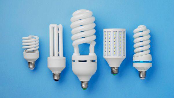 Las lámparas de bajo consumo aumentaron 40%
