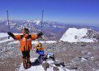 Nena rumana de 12 años es la más joven en escalar el Aconcagua