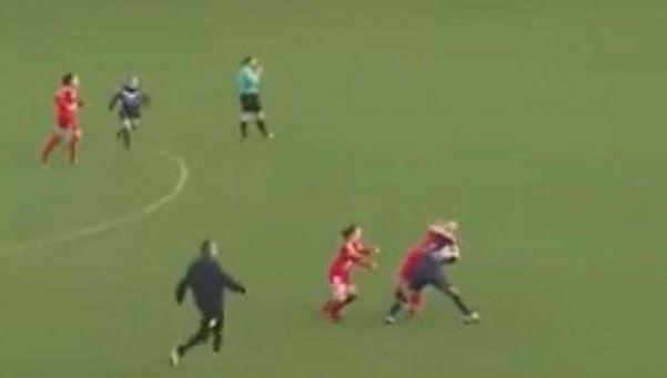 Video | La violencia en el fútbol también es cosa de mujeres