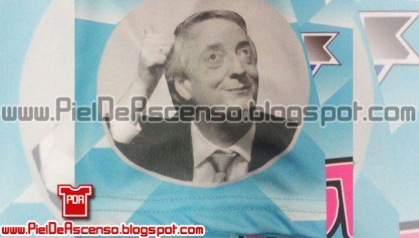 Liniers presentó una remera en homenaje a Néstor Kirchner