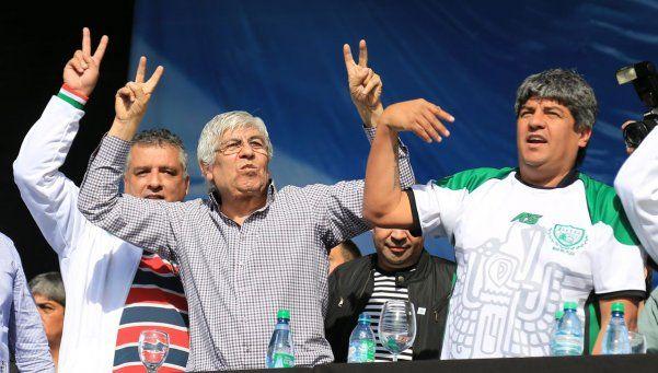 Al final, Hugo Moyano esperará el miércoles para confirmar el paro