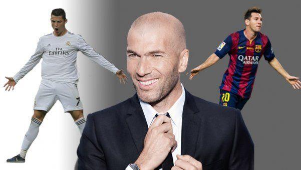 ¿Messi o Ronaldo? Zidane no tuvo dudas