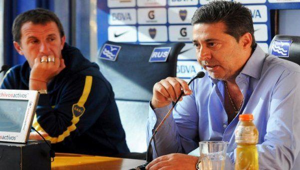 Angelici había confirmado a Arruabarrena antes del partido