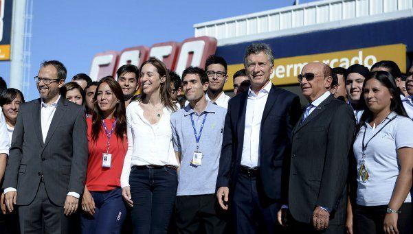 Macri dijo que se toman medidas contra la inflación