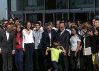 Video   El incómodo momento que vivió Macri con un niño