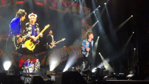 Así fue el segundo recital de los Rolling Stones