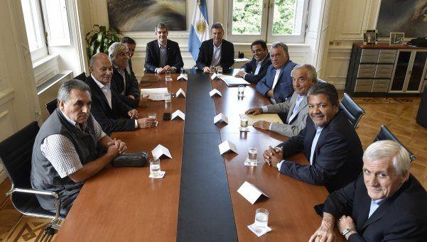 Reunión Macri-CGT: Hubo una coincidencia casi total