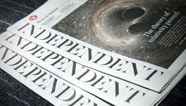The Independent dejará de imprimirse para apostar a la web