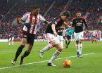 Sunderland le dio otro golpe al United y lo alejó de la Champions