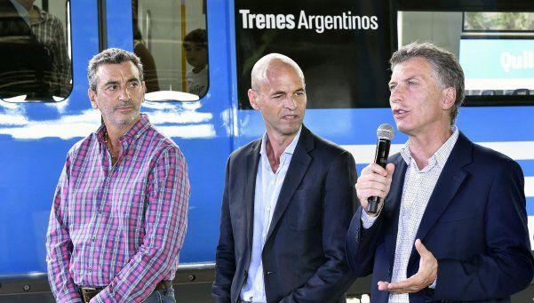Macri inauguró obras del Roca junto a Randazzo