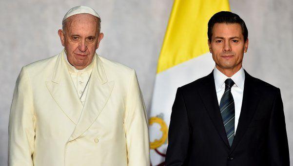 Francisco en México: Deben enfrentar el narcotráfico con coraje
