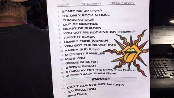 Así fue el último show de los Rolling Stones en Argentina