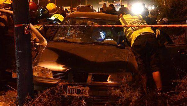 Choque en General Roca: murió una mujer embarazada y hay seis heridos