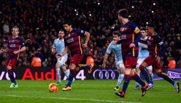 Lo que le faltaba: Messi dio un pase gol en un penal