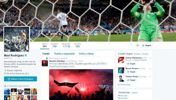 Maxi Rodríguez levantó polémica en las redes sociales