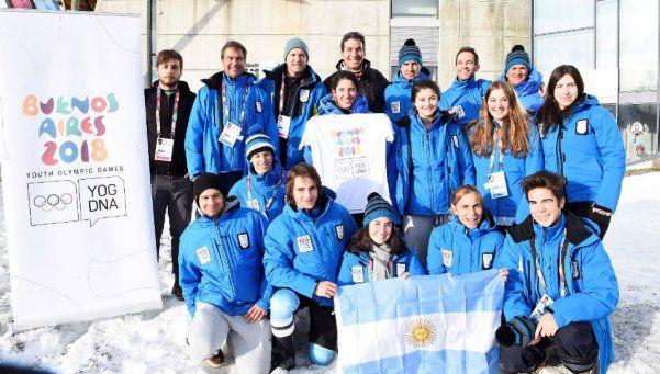 Buenos Aires 2018, presente en los JJOO de la Juventud de Lillehammer