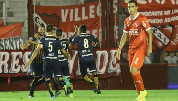 Central derrotó a Independiente y se mantiene líder en su zona
