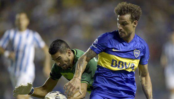 Osvaldo no se entrenó y está casi descartado ante Newells