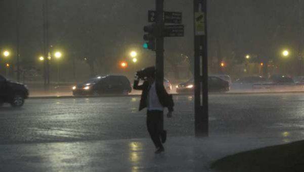 Rige un alerta meteorológico para la Ciudad y varias provincias