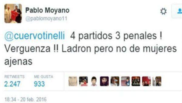 Pablo Moyano llamó ladrón a Tinelli, ¿y lo chicaneó por Guillermina?