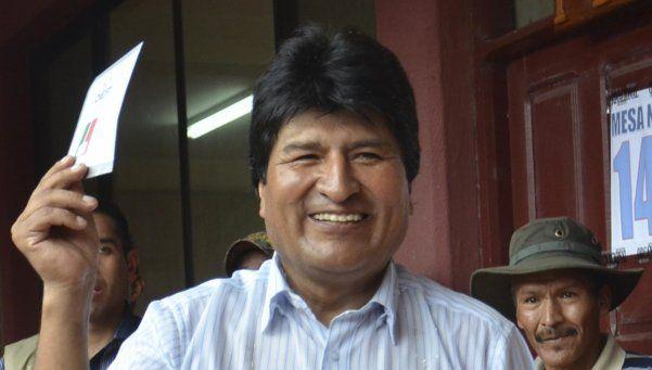 """Evo Morales: """"Si pierdo el referendo me voy feliz a mi chaco"""""""