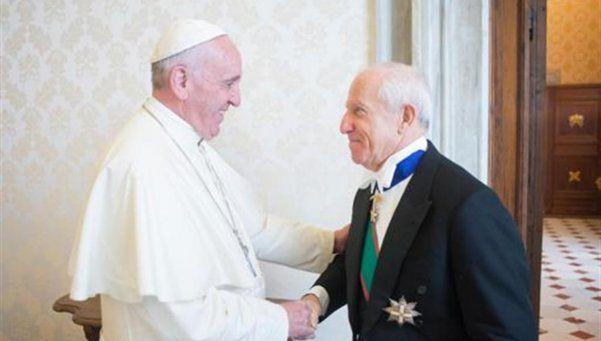 """Rogelio Pfirter: """"Tuve una reunión excelente con el Papa Francisco"""""""