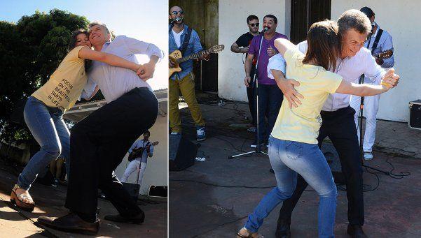 Video | Macri bailó chamamé en Corrientes