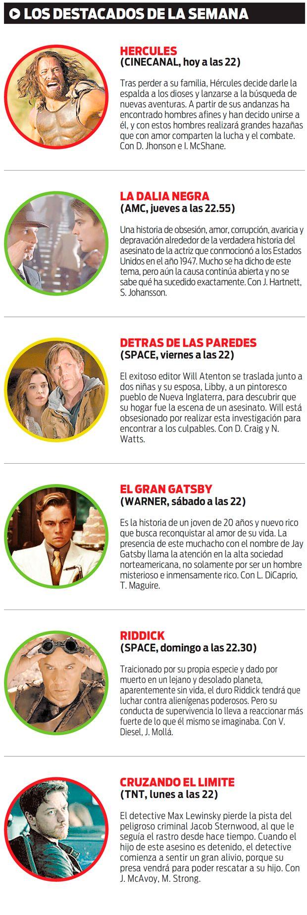 Los destacados de la Semana en TV