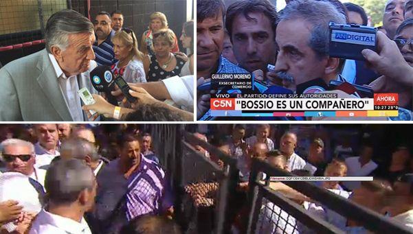 Congreso del PJ: forcejeos, el show de Moreno y el elegido