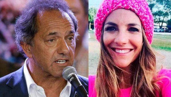 Video | Habló la supuesta novia de Daniel Scioli y negó todo