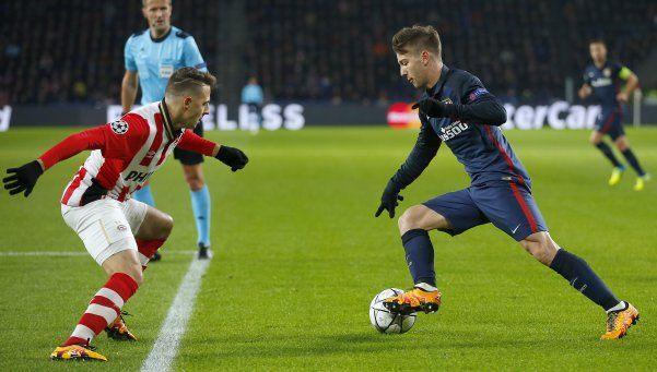 Champions: Atlético se llevó un empate con gusto a poco ante PSV