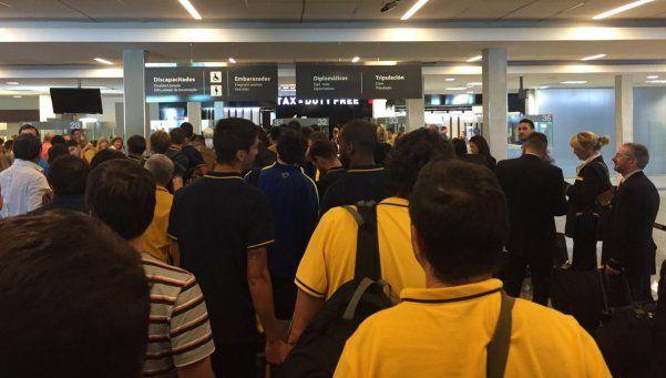Boca llegó a Buenos Aires, mientras Osvaldo sigue recuperándose