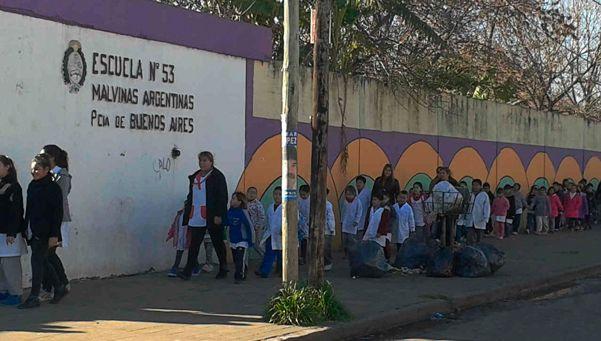 Escuela de Chingolo fue robada por cuarta vez
