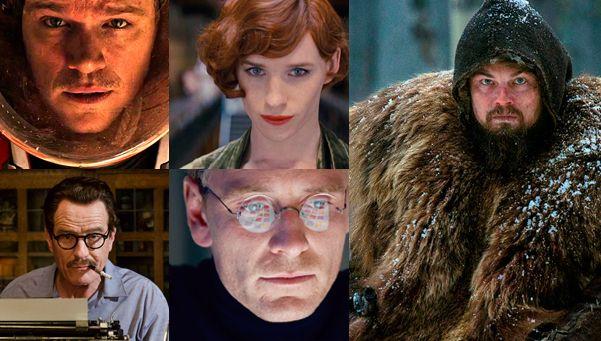 Cómo llegan los actores nominados al Oscar