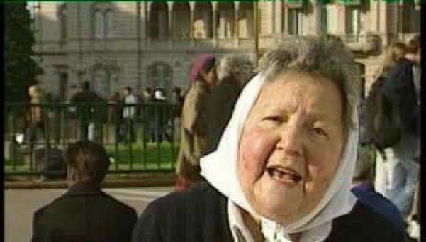Murió una Madre de Plaza de Mayo a los 101 años