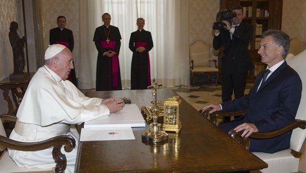 El Papa Francisco y Macri se reunieron en el Vaticano