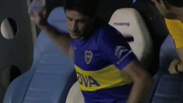 Video | El Vasco lo sacó y Pablo Pérez se enojó