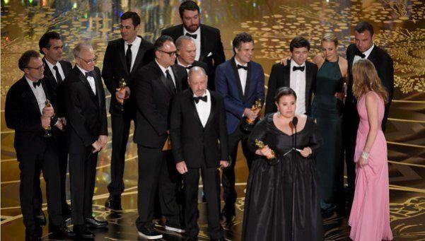 Spotlight dio el batacazo: Oscar a la Mejor película