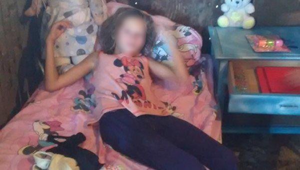 Preocupación por Micaela, que tiene 9 años y pesa 20 kilos