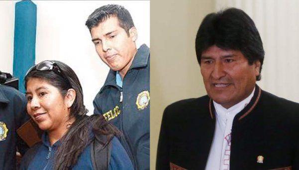 Bolivia: detienen a importante funcionaria de Evo Morales por corrupción